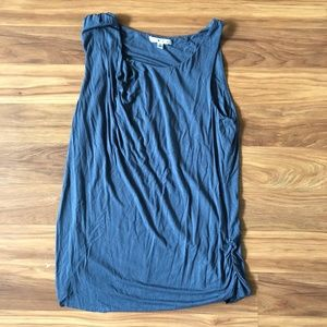CAbi Slate Grey Tank with Rushing (L)